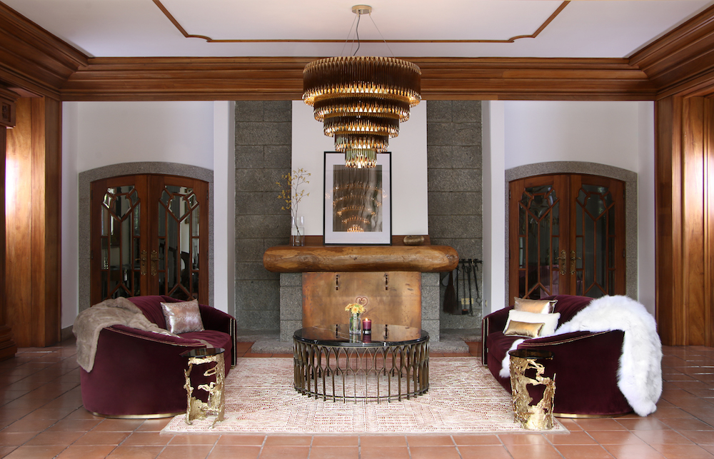 Dream House Covet House Gold Interior Touches