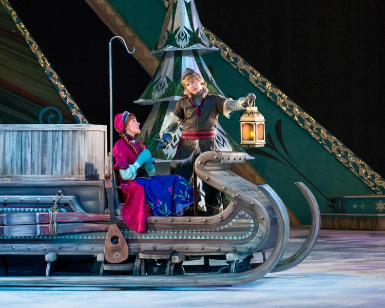 Anna and Hans Disney On Ice Presents Frozen Ticket Giveaway
