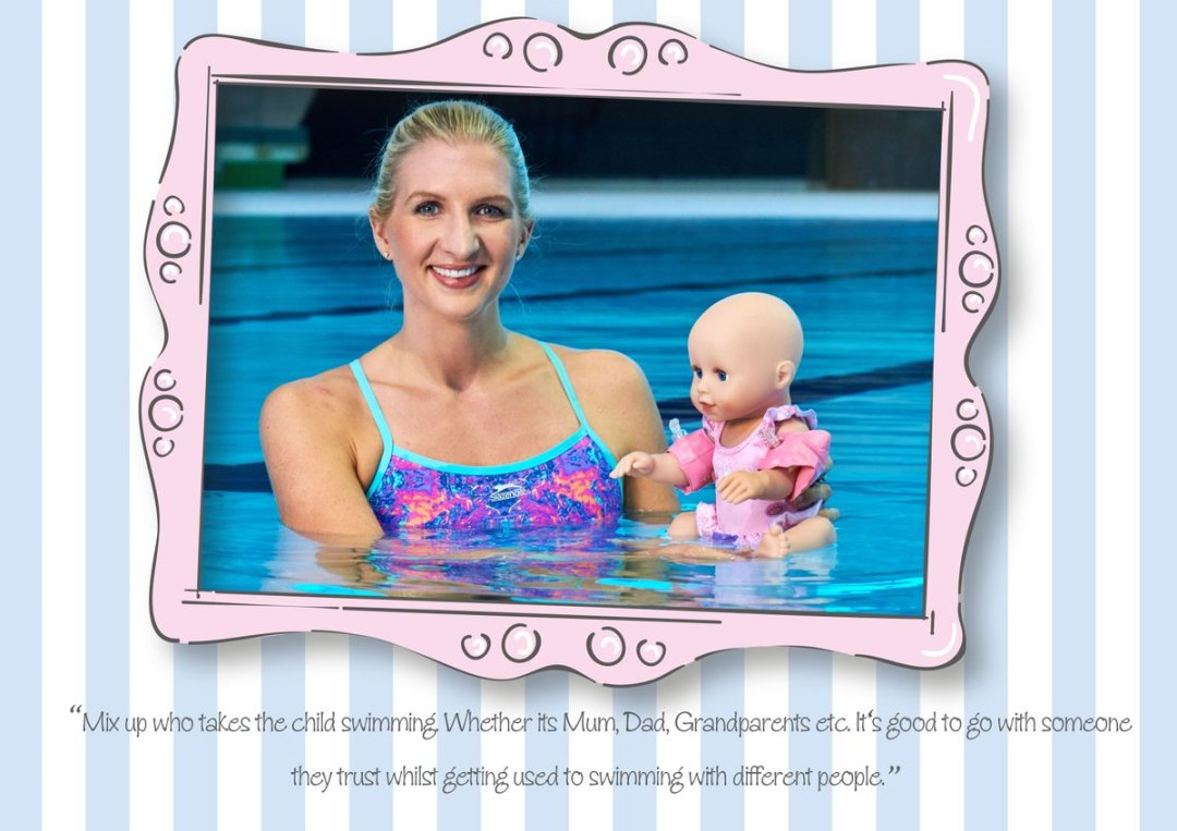 Baby Annabell Learns To Swim Rebecca Adlington