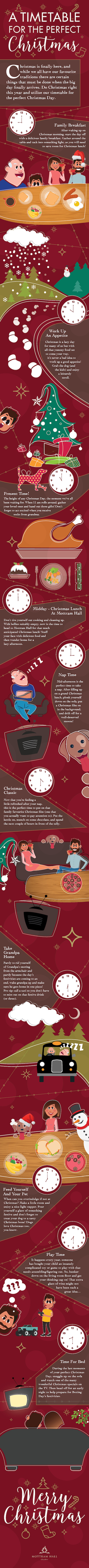 Christmas Infographic Mottram Hall