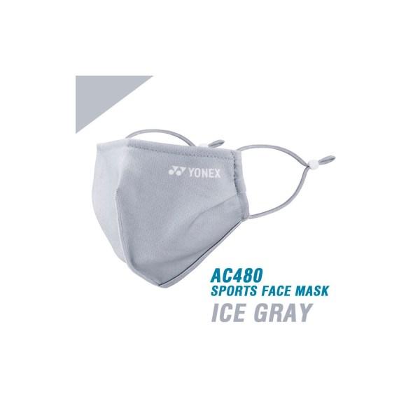 Yonex sports face mask / mondkapje | very cool | zwart of grijs