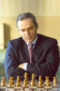 Garry Kasparov in 2007.