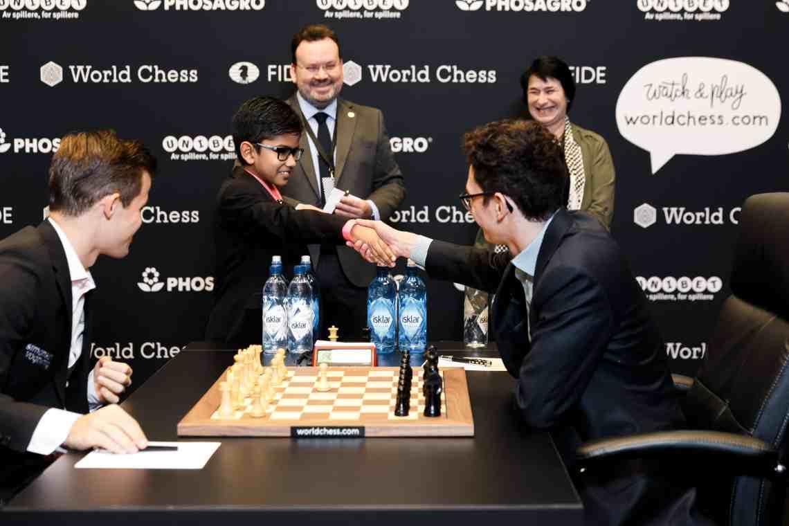 England junior Shreyas Royal made the first move