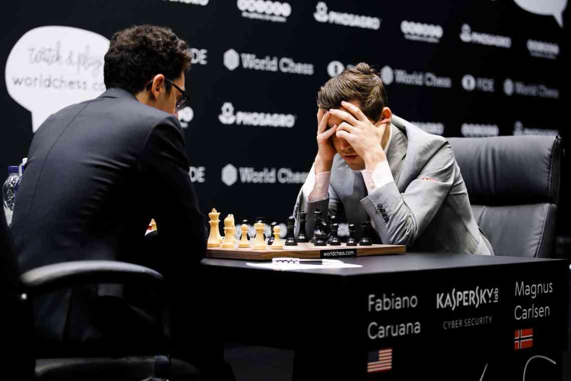 Carlsen-Caruana Game 12