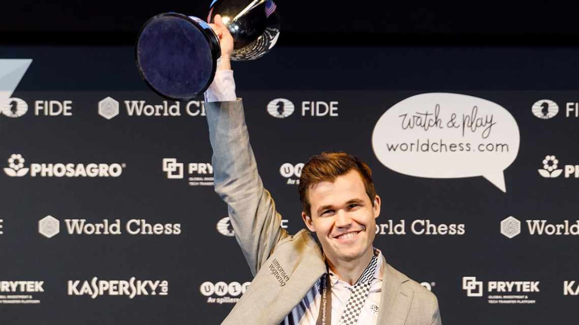 Who will win the right to face Magnus Carlsen?