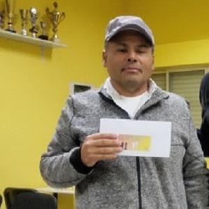Javier Longa vencedor en el XXI Open Internacional Club Ajedrez Villaverde