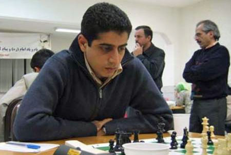 World champion Iranian chess star Ehsan Ghaem Maghami.