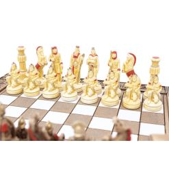 ARMA 陶器のチェスセット レオニダス 31cm 赤 10