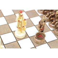 ARMA 陶器のチェスセット レオニダス 31cm 赤 11