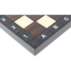 木製ゲームセット チェス/バックギャモン/チェッカー 27cm 4