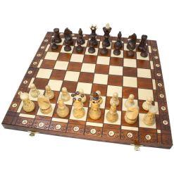 Wegiel 木製チェスセット アンバサダー 52cm 13