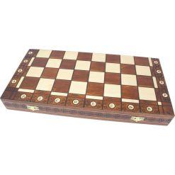 Wegiel 木製チェスセット アンバサダー 52cm 2