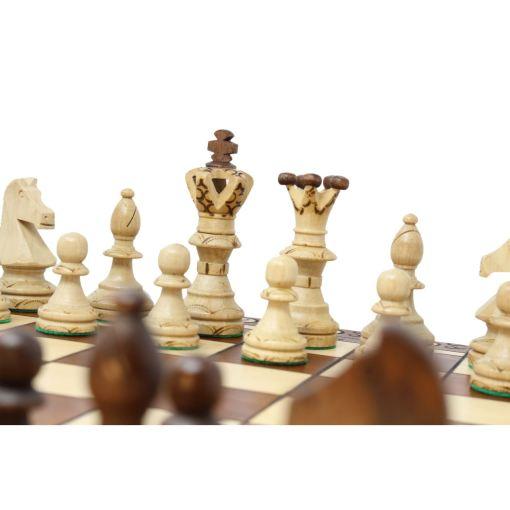 Wegiel 木製チェスセット アンバサダー 52cm 9