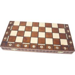 Wegiel 木製チェスセット コンスル 47cm 2