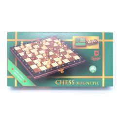 Wegiel 木製チェスセット マグネティック 27cm 17