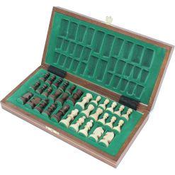 Wegiel 木製チェスセット マグネティック 27cm 5