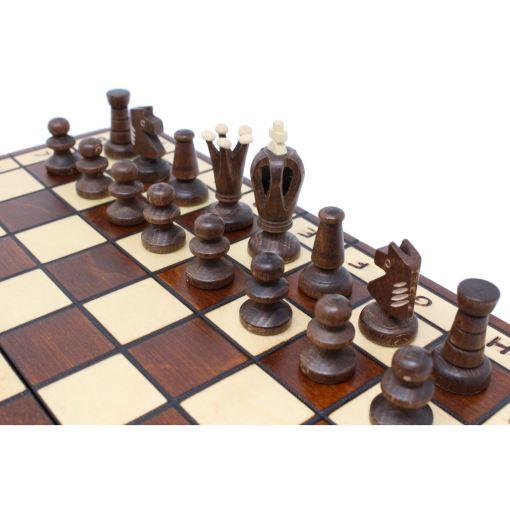 Wegiel 木製チェスセット ロイヤル 35cm 11