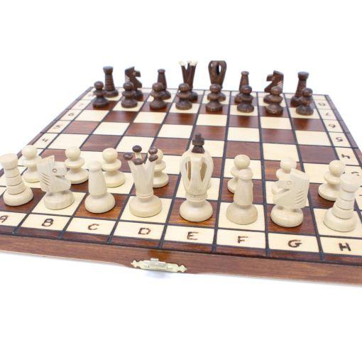 Wegiel 木製チェスセット ロイヤル 35cm 13