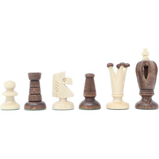 Wegiel 木製チェスセット ロイヤル 35cm 16