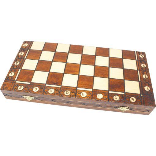 Wegiel 木製チェスセット セネター 41cm 2