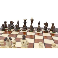 Wegiel 木製チェスセット セネター 41cm 8