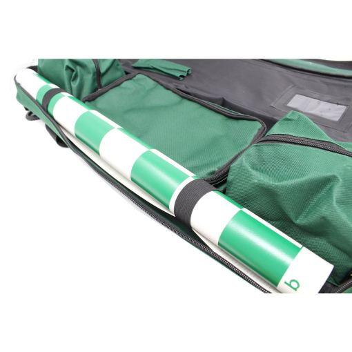 チェスセット専用バッグ 取り外し可能ショルダータイプ 緑 5