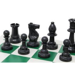 チェスジャパン スタンダードチェスセット ナショナル 43cm グリーン 7