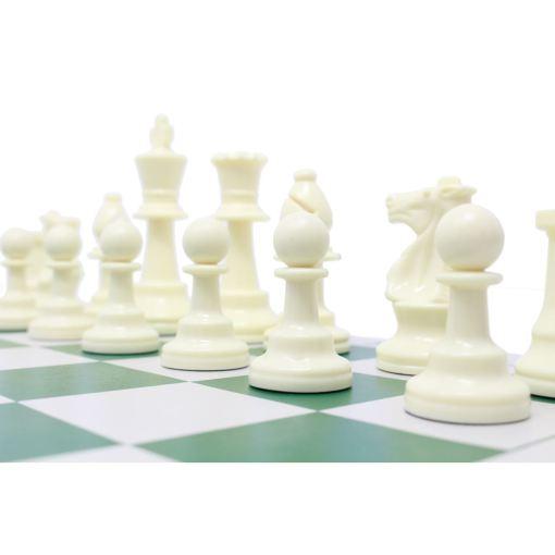 チェスジャパン スタンダードチェスセット ナショナル 43cm グリーン 9