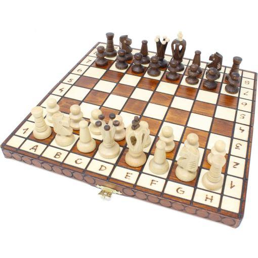 Wegiel 木製チェスセット ロイヤル 30cm 1
