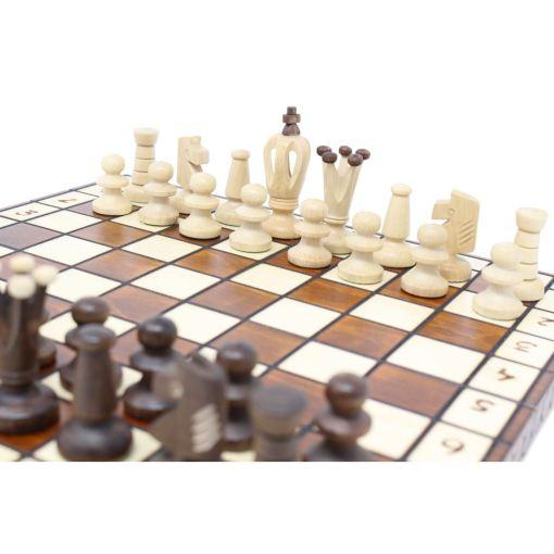 Wegiel 木製チェスセット ロイヤル 30cm 14
