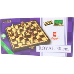 Wegiel 木製チェスセット ロイヤル 30cm 15