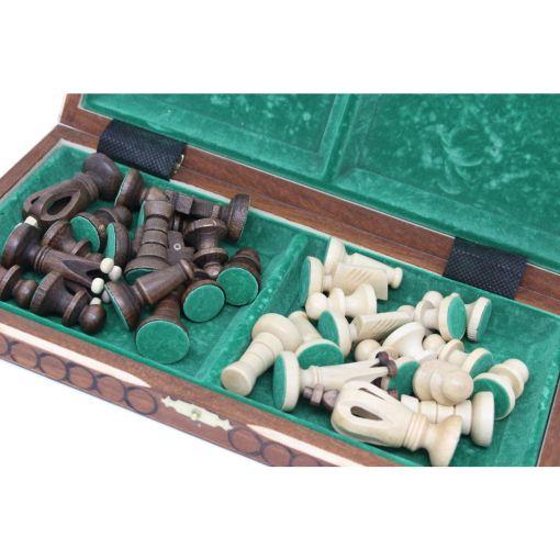 Wegiel 木製チェスセット ロイヤル 30cm 5
