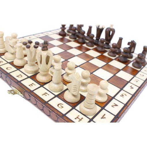 Wegiel 木製チェスセット ロイヤル 30cm 6