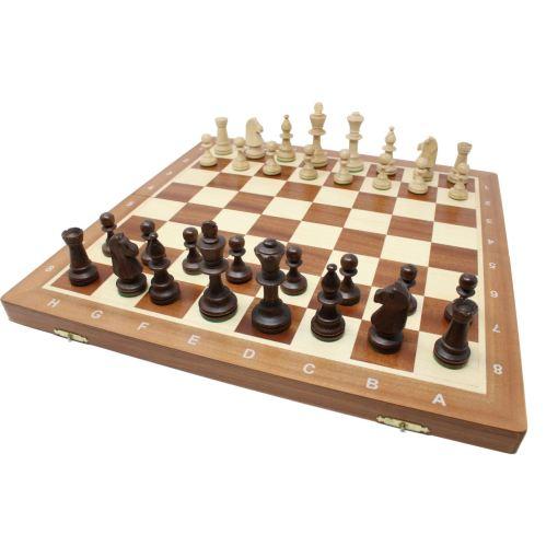 Wegiel 木製チェスセット トーナメントNo.5 47cm 12