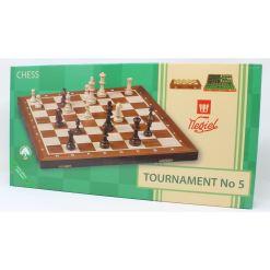 Wegiel 木製チェスセット トーナメントNo.5 47cm 15