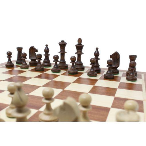 Wegiel 木製チェスセット トーナメントNo.5 47cm 7
