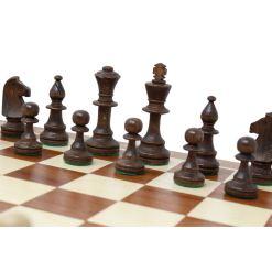 Wegiel 木製チェスセット トーナメントNo.5 47cm 8