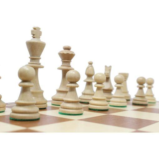 Wegiel 木製チェスセット トーナメントNo.6 52cm 10