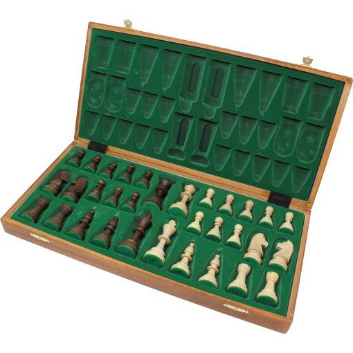 Wegiel 木製チェスセット トーナメントNo.6 52cm 4