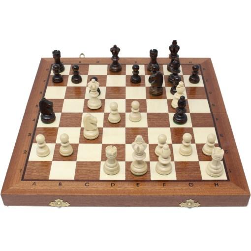 木製チェスセット オリンピアード 35cm 14