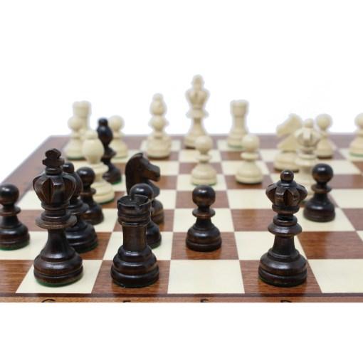 木製チェスセット オリンピアード 35cm 18