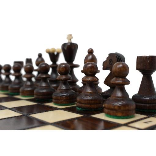 木製チェスセット パール 30cm 14