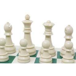チェスジャパン チェスセット ジャーマンナイト 95mm スタンダード 43cm 11