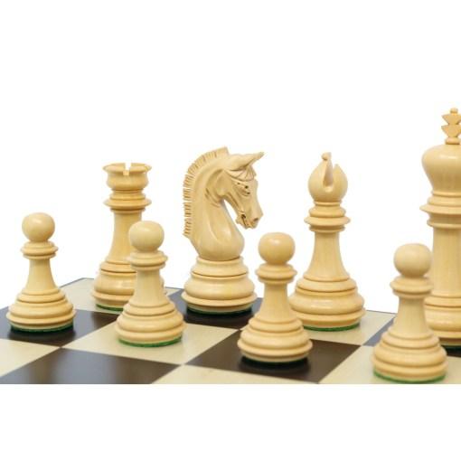 チェスジャパン チェス駒 エンパイア エボナイズ 10
