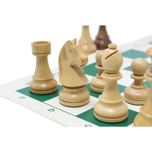 チェスジャパン チェス駒 スタンダード・スタントン 95mm 日本チェス連盟公式用具 21