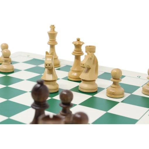 チェスジャパン チェス駒 スタンダード・スタントン 95mm 日本チェス連盟公式用具 32