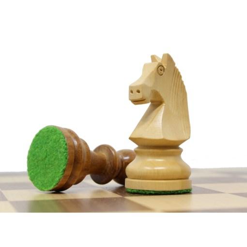 チェスジャパン チェス駒 トーナメント 96mm 日本チェス連盟公式用具 8