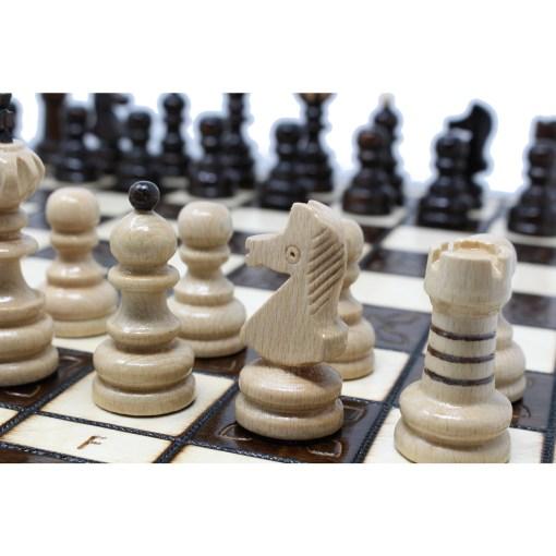 木製チェスセット クラクフ 42cm 8