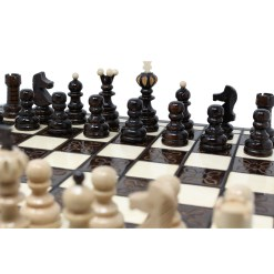 木製チェスセット クラクフ 42cm 9