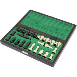 チェスジャパン 木製チェスセット オールドスクール 4